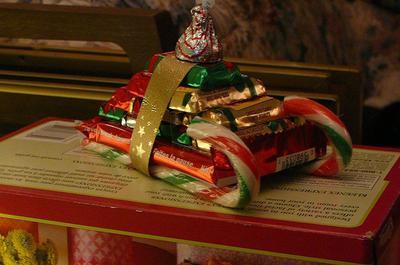 candy sleigh gift