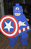 Captain America Lego Kid Costume