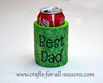 diy can koozie