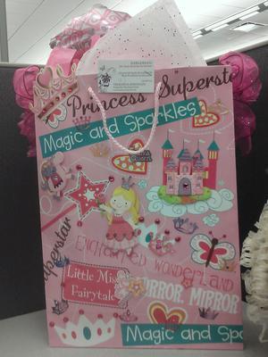 Princess decorated bag