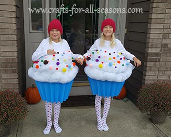 Cupcake Costume  sc 1 st  Crafts For All Seasons & DIY Cupcake Costume