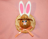 easter bunny pin