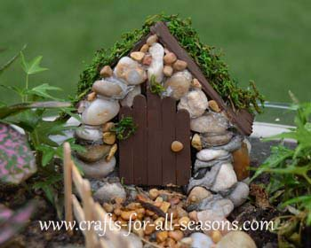 make a fairy garden from the furniture to the fairies. Black Bedroom Furniture Sets. Home Design Ideas