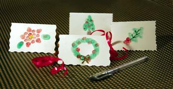 fingerprint gift tags