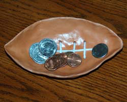 football coin holder