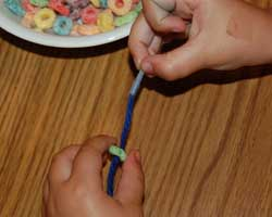 fruit ring necklace