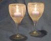 gel wax candle holders
