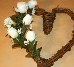 grapevine heart wreath
