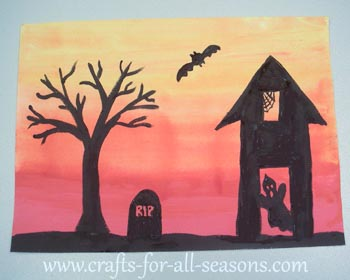 art and craft ideas for halloween project 7398