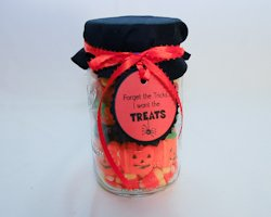 halloween candy jar