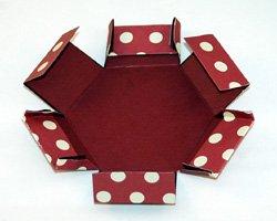 hexagon explosion box