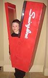 Human Stapler Costume