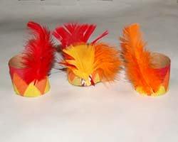 Indian headband napkin rings