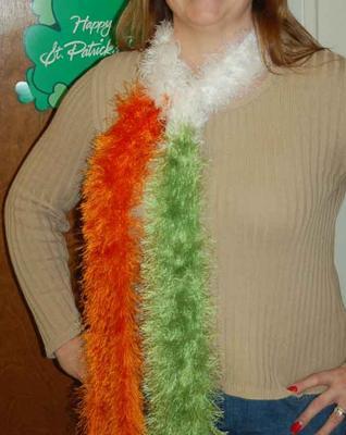 irish flag scarf