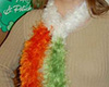 Irish flag scarf