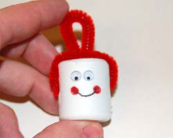 jingle bell snowman