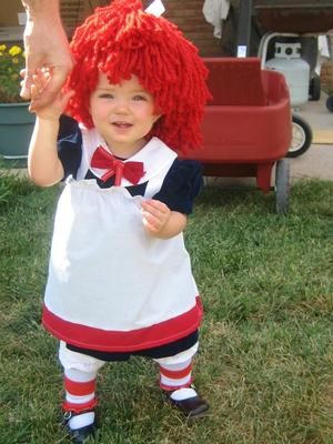 little rag doll costume