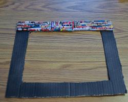 magazine bead frame