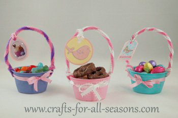 mini Easter baskets