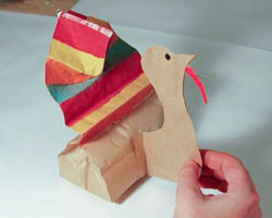 paper bag turkey