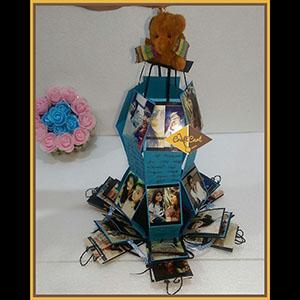 paper hexagon explosion box