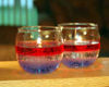 patriotic gel candles