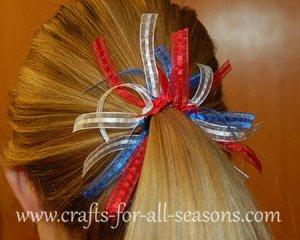patriotic hair band
