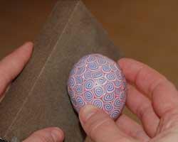polymer clay egg