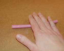 polymer clay cane