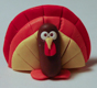 polymer clay turkey
