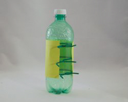 pop bottle craft