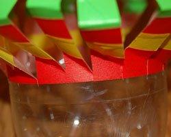 pop bottle wind spinner
