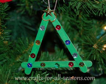 preschool ornament craft - Childrens Christmas Tree Decorations