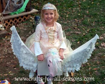 princess on a pegasus