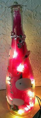 Pink Breast Cancer Survivor Bottle