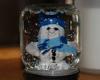 polymer clay snowman