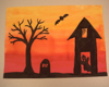 Halloween art project