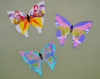 painted string art butterflies