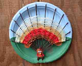 string art turkey craft