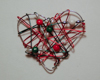 wrapped wire ornament