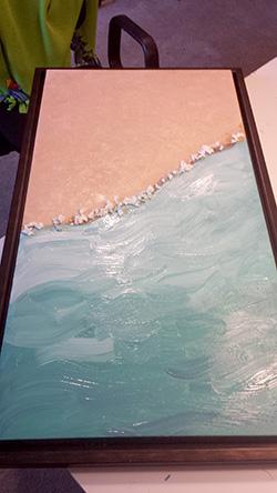 beach canvas art