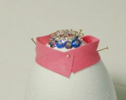 beaded egg craft