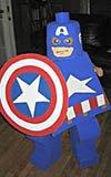 Captain America Lego Kid Costume