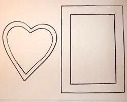 conversation heart frames
