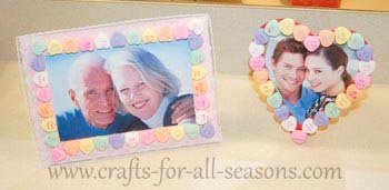 conversation heart frames