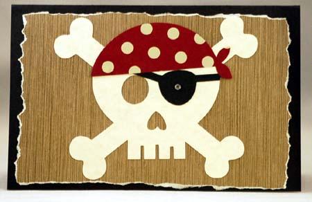 cricut pirate card
