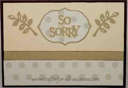 cricut sympathy card