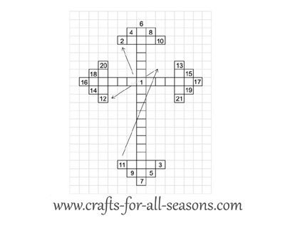 cross craft pattern