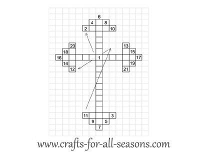 cross craft pattern