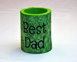 decorated can koozie